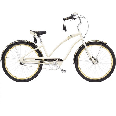 Vélo Beach Cruiser ELECTRA ZELDA 3i Blanc 2020